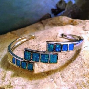 Bangle Opal Bracelet
